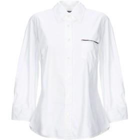 《セール開催中》JACOB COHЁN レディース シャツ ホワイト M コットン 97% / ポリウレタン 3%