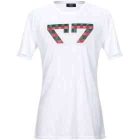 《セール開催中》FALORMA メンズ T シャツ ホワイト XL コットン 100%