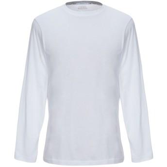 《セール開催中》BARBATI メンズ T シャツ ホワイト XXL コットン 100%