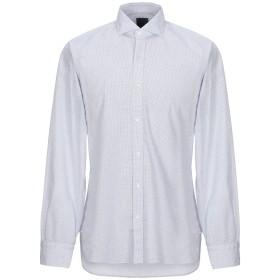 《セール開催中》BARBA Napoli メンズ シャツ ホワイト 39 コットン 100%