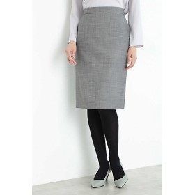 <BOSCH> シルクウールギャバストレッチセットアップスカート(0219220010) 021グレー【三越・伊勢丹/公式】