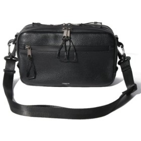 (ONEDAY KMC/ワンデイケイエムシー)ADAMPATEK/[Echo]water proofleather shoulder bag/メンズ ブラック