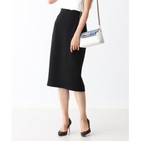 ビームス ウィメン Demi Luxe BEAMS / ダブルクロス セミタイトスカート 20FO レディース BLACK 38 【BEAMS WOMEN】