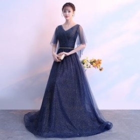 パーティー ドレス ロングドレス ウェディングドレス マキシ丈 花嫁 イブニングドレス 結婚式