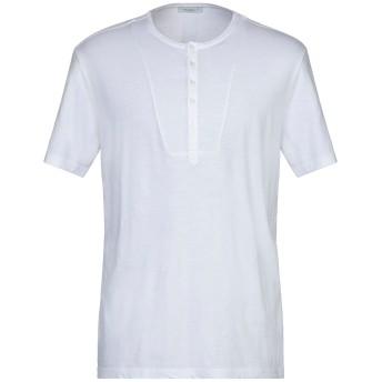 《セール開催中》PAOLO PECORA メンズ T シャツ ホワイト M コットン 100%