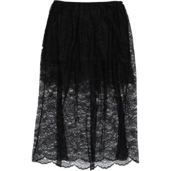 《セール開催中》PACO RABANNE レディース 7分丈スカート ブラック 38 ナイロン 100%