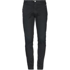 《セール開催中》AGLINI メンズ パンツ ブラック 31 コットン 97% / ポリウレタン 3%
