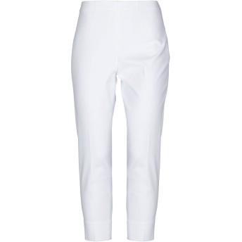 《セール開催中》QL2 QUELLEDUE レディース パンツ ホワイト 38 コットン 97% / ポリウレタン 3%