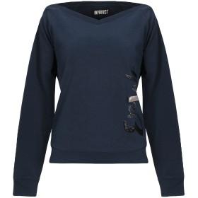 《セール開催中》!MERFECT レディース スウェットシャツ ダークブルー S コットン 80% / ポリエステル 20%