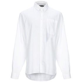 《セール開催中》CASUAL FRIDAY by BLEND メンズ シャツ ホワイト XL 麻 55% / コットン 45%