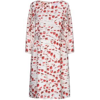 《セール開催中》COMPAIA FANTASTICA レディース ミニワンピース&ドレス ベージュ XS レーヨン 85% / ナイロン 15%