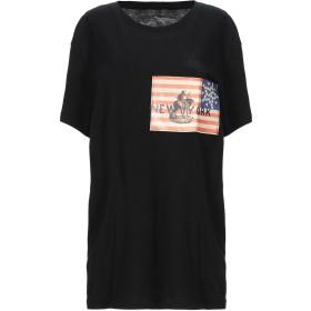 《セール開催中》BASTILLE レディース T シャツ ブラック M コットン 100%