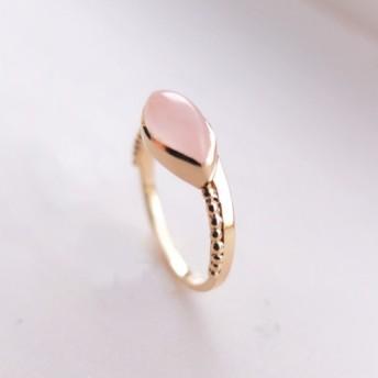 stack ring~ローズクォーツ