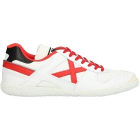 《セール開催中》MUNICH メンズ スニーカー&テニスシューズ(ローカット) ホワイト 43 革 / 紡績繊維