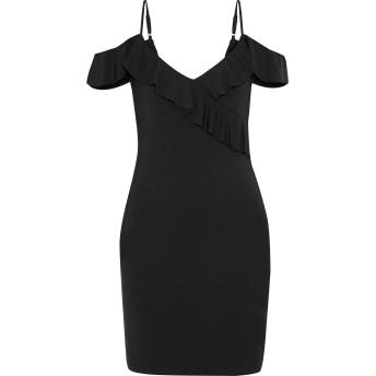 《セール開催中》TART COLLECTIONS レディース ミニワンピース&ドレス ブラック XS レーヨン 95% / ポリウレタン 5%