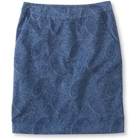 ベルべティーン・ペンシル・スカート、ペイズリー/Velveteen Pencil Skirt, Paisley