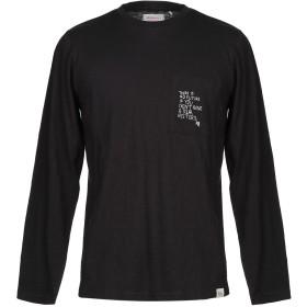 《セール開催中》RO ROGER'S メンズ T シャツ ブラック L コットン 100%