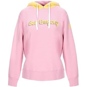 《セール開催中》BEST COMPANY レディース スウェットシャツ ピンク S コットン 100%