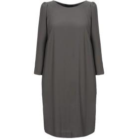 《セール開催中》SEVENTY SERGIO TEGON レディース ミニワンピース&ドレス 鉛色 44 ポリエステル 100%