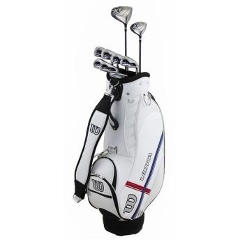 ウイルソン キャディバッグ付き クラブセット 2×6P (1w、5w、6i、7i、8i、9i、Pw、Sw、Pt) メンズ ゴルフ Wilson キャディーバッグ