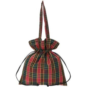 【6,000円(税込)以上のお買物で全国送料無料。】【Lilas campbell】Check bag