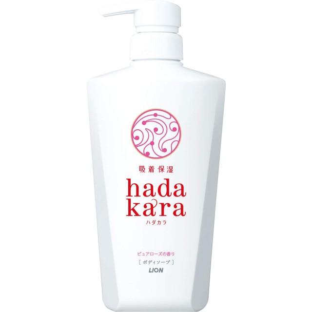 hadakara(ハダカラ)ボディソープ ピュアローズの香り 本体 500ml