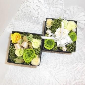 クリスマスギフト バラのBOXフラワー 結婚の御祝い・お誕生日・各種のお祝い・感謝の気持ちの贈り物・バレン