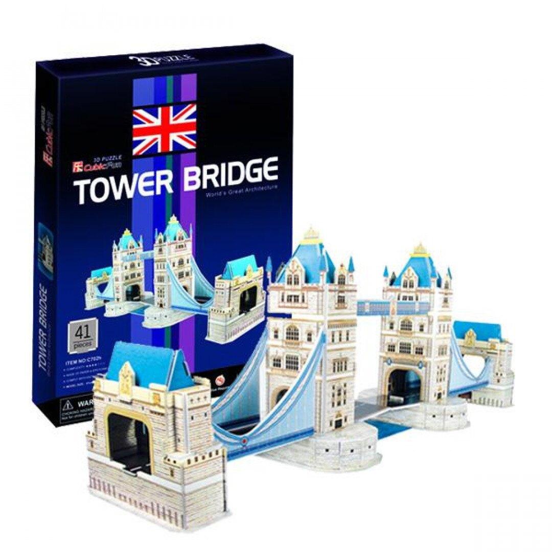 《 Cubic Fun 3D 立體拼圖 》入門版--倫敦雙子橋 東喬精品百貨