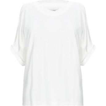 《セール開催中》MM6 MAISON MARGIELA レディース T シャツ ホワイト XS コットン 100%