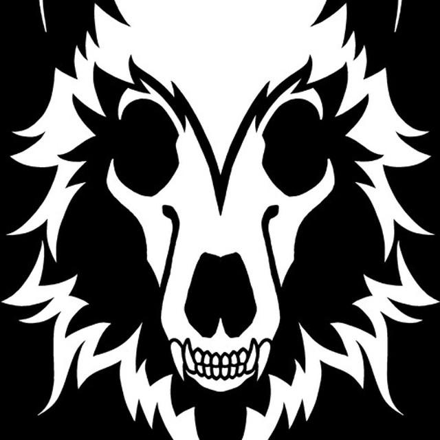 オオカミスカル(半袖)