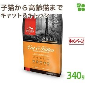 (20%OFF)オリジン キャット&キトゥン(全ライフステージ猫・子猫用)340g  (正規品) (賞味期限2020年6月20日)[期間限定]