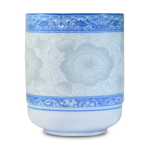 ★堯峰陶瓷★餐桌系列 韓國骨瓷 桔梗 長湯吞杯   單入 茶杯 | 代客杯 | 新娘奉茶杯 | 塞紅包杯 | 大容量