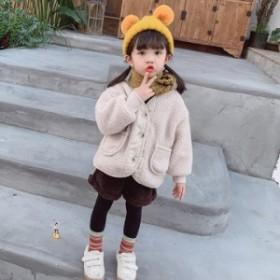 1030子供用のウール冬スタイルのコートは男女の子供洋風の新型のカシミアの男の子の韓国版の厚い加絨の綿入れの服です