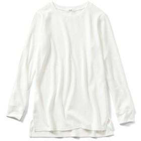 着こなし自在 こなれホワイトコットンTシャツの会 IEDIT[イディット] フェリシモ FELISSIMO