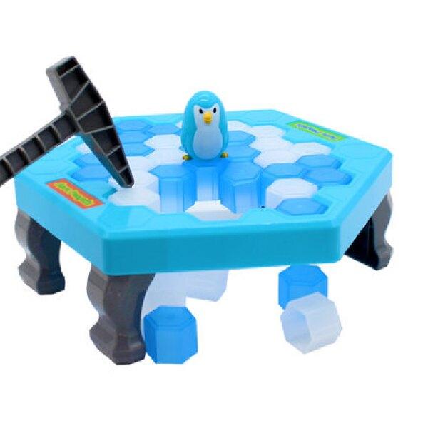 企鵝破冰 企鵝冰塊 敲打企鵝 出清價$99 錘冰救企鵝 桌遊 桌上遊戲 拯救企鵝 敲冰塊 交換禮物(V50-1840) 4.8