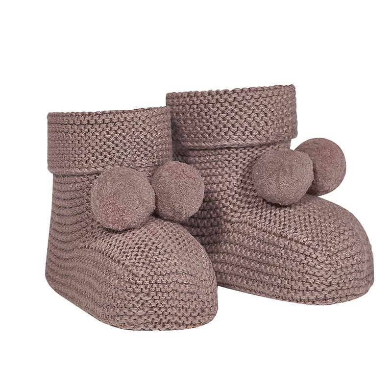CND 新生兒寶貝針織靴