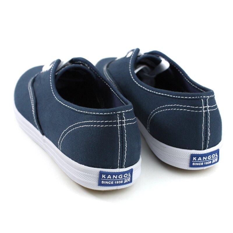KANGOL 休閒鞋 帆布鞋 女鞋 深藍色 6822200280 no026