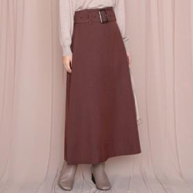 [マルイ]【セール】チェックベルト付きスカート/チーク(Cheek)