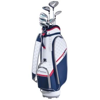 ブリヂストン レディース クラブセット ツアーステージ CL 8本セット キャディバッグ付き : ネイビー ゴルフ TOURSTAGE golf5 BRIDGESTONE キャディーバッグ