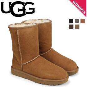UGG アグ ムートン ブーツ クラシック ショート 2 WOMENS CLASSIC SHORT II 1016223 レディース 10/10 追加入荷