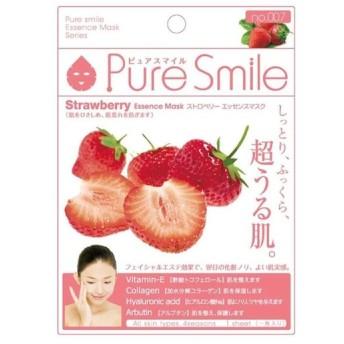 PureSmile(ピュアスマイル) エッセンスマスク 化粧水タイプ 30枚セット ストロベリー・007