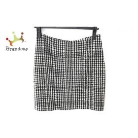 アニエスベー agnes b ミニスカート サイズ1 S レディース 美品 黒×白 千鳥格子 新着 20191101