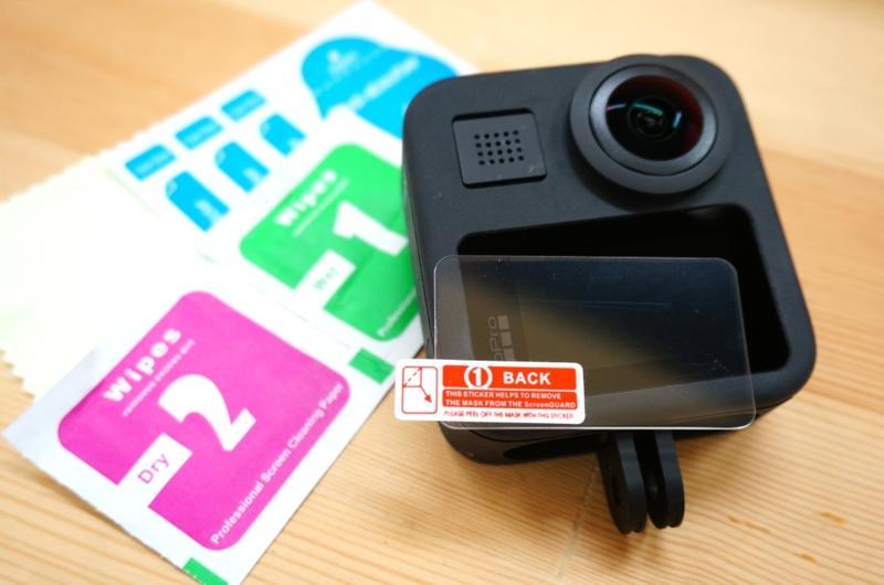 【中壢NOVA-水世界】GoPro MAX【鋼化玻璃保護貼】9H 高透光 疏水疏油 靜電抗刮 門市可代貼