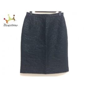 ヴィヴィアンタム VIVIENNE TAM スカート サイズ0 XS レディース 黒 花柄/ラメ 新着 20191101