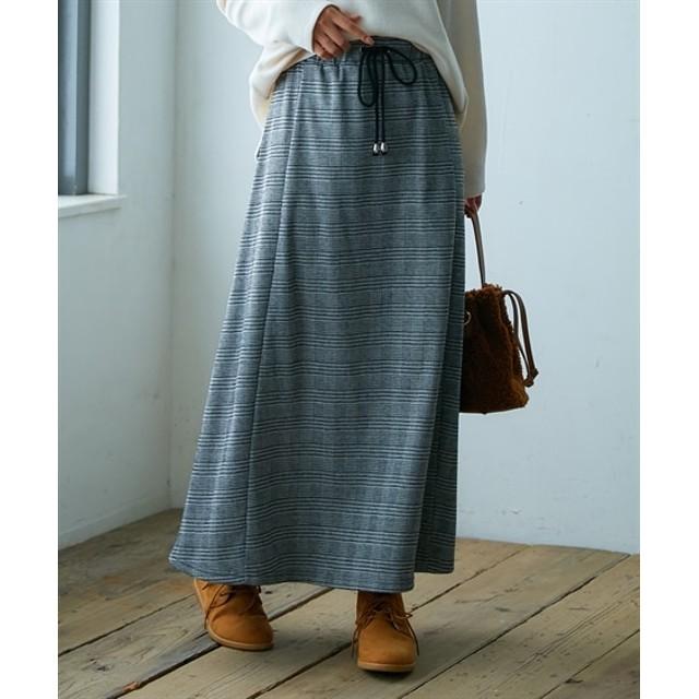 裏シャギーマキシスカート (ロング丈・マキシ丈スカート)Skirts, 裙子