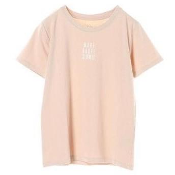 イーハイフンワールドギャラリー E hyphen world gallery ベア天クルーロゴTシャツ (Pink Beige)