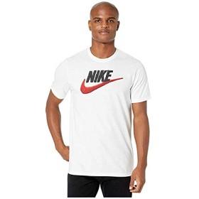 [NIKE(ナイキ)] シャツ・ワイシャツ等 NSW Brand Mark Tee White/Black/University Red L [並行輸入品]