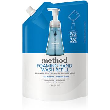 Method 美則 海藍礦物泡沫洗手露(補充包) 828ml