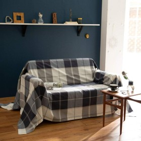Fab the Home マルチカバー ネイビー 210×270cm アクロス FH158178-310
