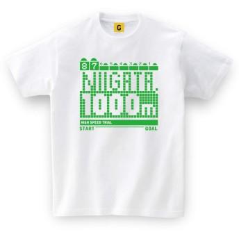 競馬 Tシャツ 新潟競馬場 直線1000mTシャツ L ホワイト